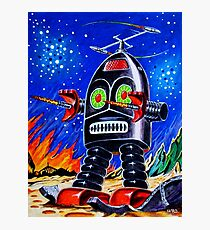 THUNDER ROBOT Photographic Print