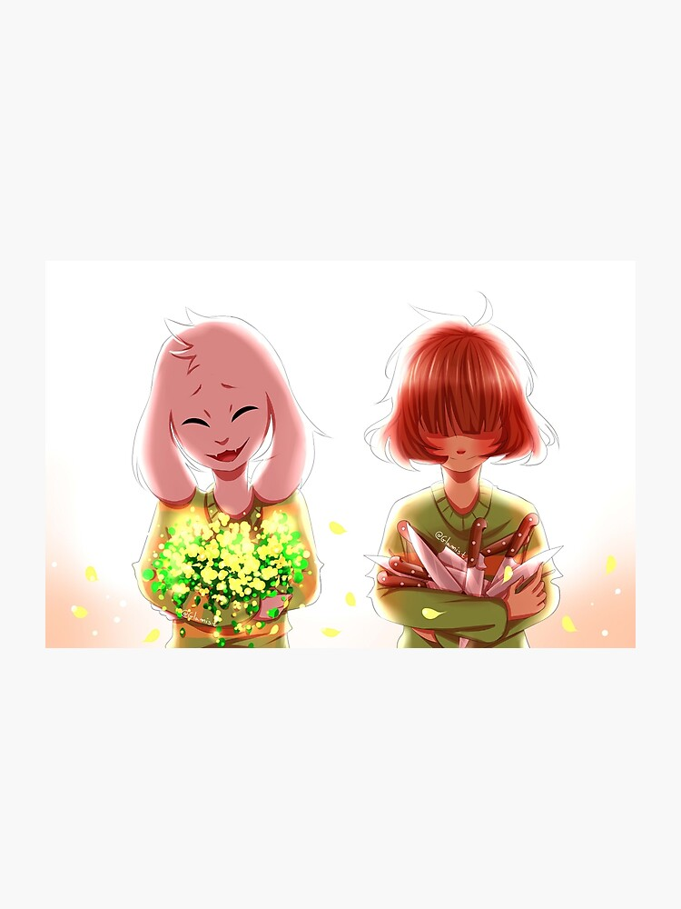 Undertale - Asriel and Chara