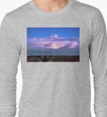 Cheering Nature On T-Shirt
