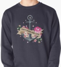 Navy Wife for Life Pullover