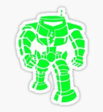 Manbot - Super Lime Variant Sticker