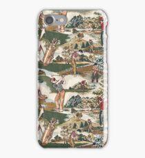 Fabric Art, Golfers Delight iPhone Case/Skin