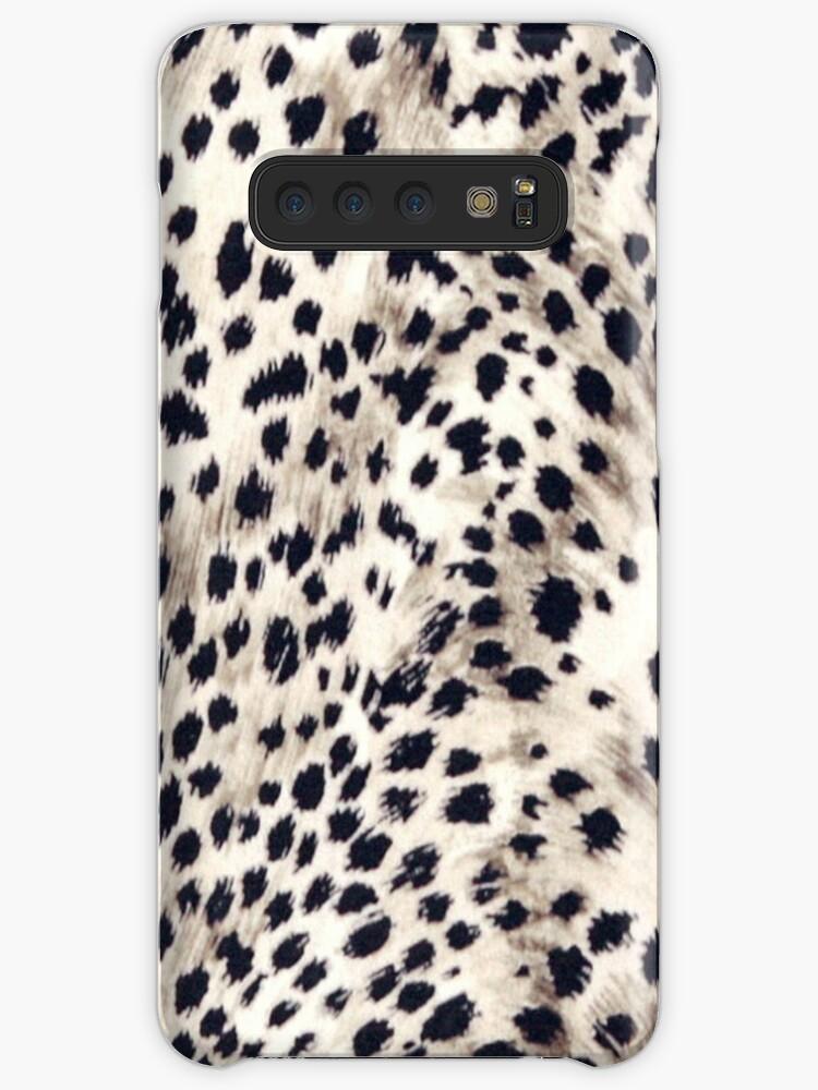 Quot Faux Animal Fur Snow Leopard Quot Cases Amp Skins For Samsung