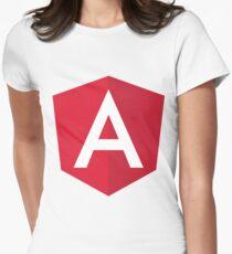 Angular 2 Women's Fitted T-Shirt