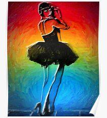 She's Like a Rainbow Poster