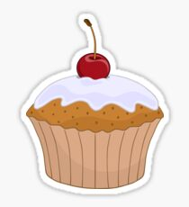 Cute Cupcake Baking Party Stickers Sticker