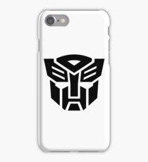 Auto (Simple Black Theme) iPhone Case/Skin