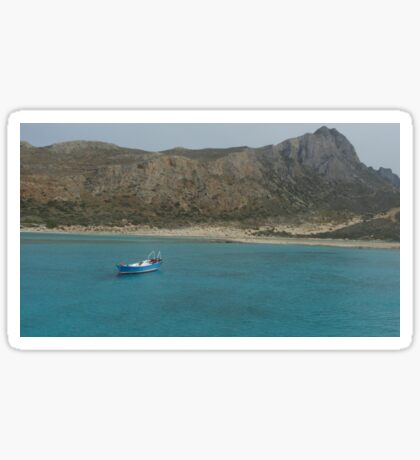Balos Lagoon Sticker