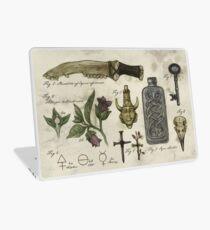 Vinilo para portátil Historia (súper) natural: artefactos de Hunter