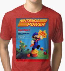 Nintendo Power - July/August 1988 Tri-blend T-Shirt
