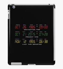 BTTF - Back To The Future - Time Travel Display Dashboard iPad Case/Skin