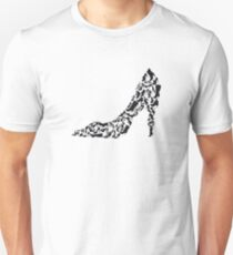 Stiletto with different shoe silhouettes Unisex T-Shirt