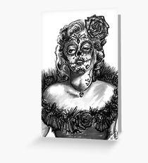 Marilyn Sugar Greeting Card