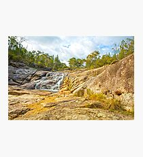 Silky Falls... Photographic Print