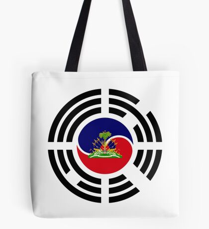 Korean Haitian Multinational Patriot Flag Series Tote Bag