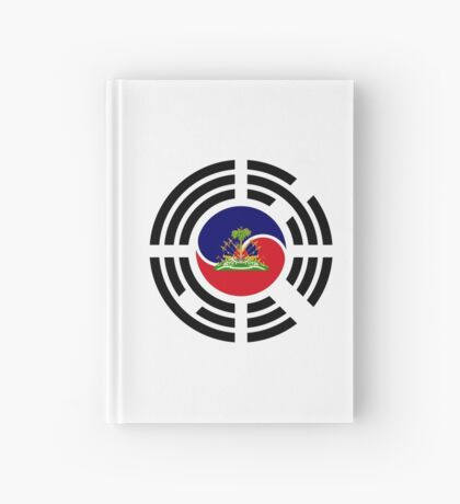 Korean Haitian Multinational Patriot Flag Series Hardcover Journal
