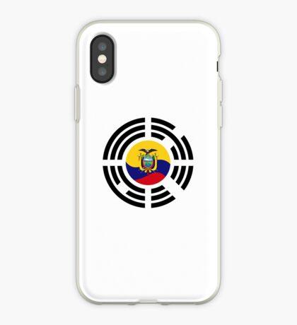 Korean Ecuadorian Multinational Patriot Flag Series iPhone Case