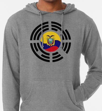 Korean Ecuadorian Multinational Patriot Flag Series Lightweight Hoodie