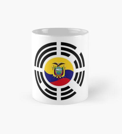 Korean Ecuadorian Multinational Patriot Flag Series Mug