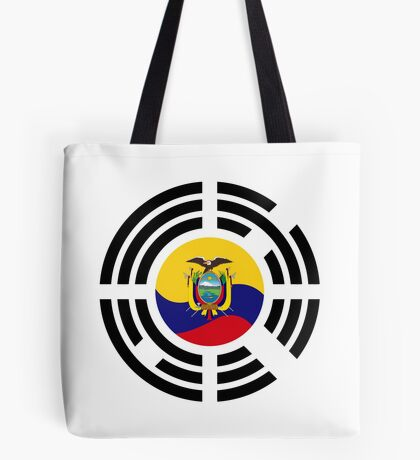 Korean Ecuadorian Multinational Patriot Flag Series Tote Bag