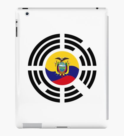Korean Ecuadorian Multinational Patriot Flag Series iPad Case/Skin