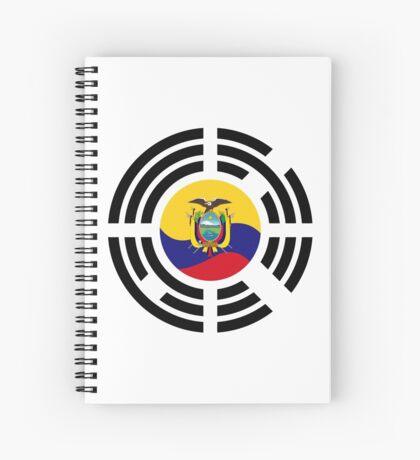 Korean Ecuadorian Multinational Patriot Flag Series Spiral Notebook