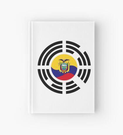 Korean Ecuadorian Multinational Patriot Flag Series Hardcover Journal