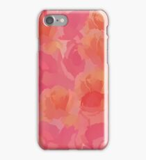 Soft Rose Bouquet Abstract iPhone Case/Skin