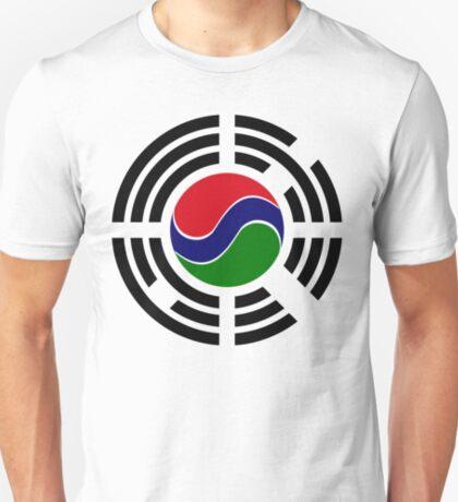 Korean Gambian Multinational Patriot Flag Series T-Shirt