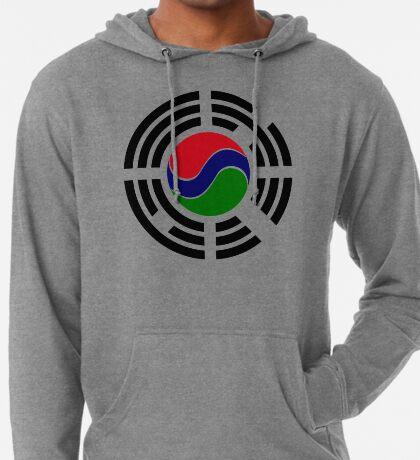 Korean Gambian Multinational Patriot Flag Series Lightweight Hoodie