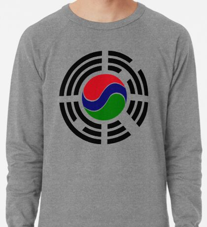 Korean Gambian Multinational Patriot Flag Series Lightweight Sweatshirt