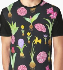 Spring Bulbs and Brains  Graphic T-Shirt