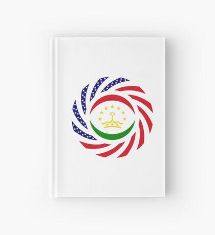 Tajik American Multinational Patriot Flag Series Hardcover Journal