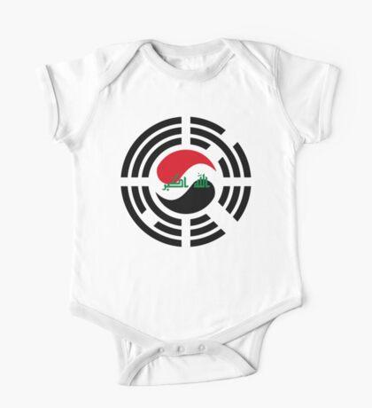 Korean Iraqi Multinational Patriot Flag Series Kids Clothes