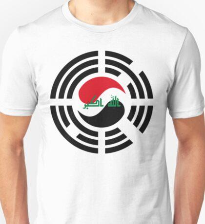Korean Iraqi Multinational Patriot Flag Series T-Shirt