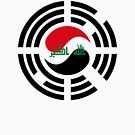 Korean Iraqi Multinational Patriot Flag Series by Carbon-Fibre Media