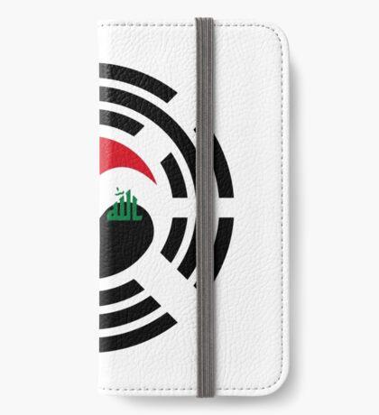 Korean Iraqi Multinational Patriot Flag Series iPhone Wallet