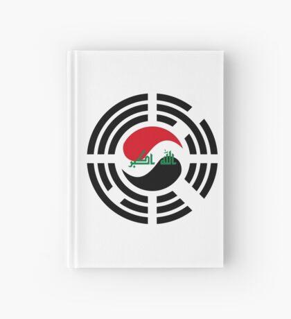 Korean Iraqi Multinational Patriot Flag Series Hardcover Journal
