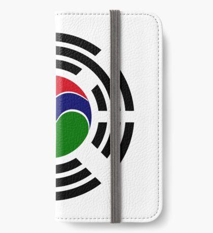 Korean Gambian Multinational Patriot Flag Series iPhone Wallet