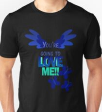 Quotes and quips - LOVE ME!! - inverted T-Shirt