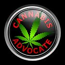 Cannabis Advocate - End The War on Drugs by Kowulz