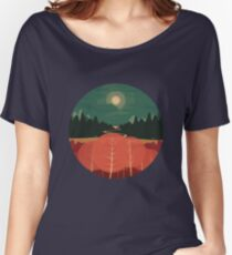 Midday Mountains Women's Relaxed Fit T-Shirt