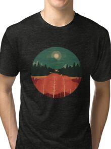 Midday Mountains Tri-blend T-Shirt