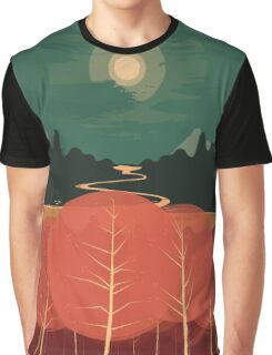 Midday Mountains Graphic T-Shirt