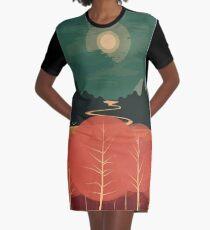 Mittagsberge T-Shirt Kleid