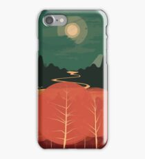 Midday Mountains iPhone Case/Skin