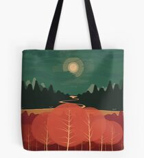Midday Mountains Tote Bag