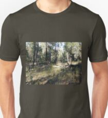 Serpentine Bush in Green Unisex T-Shirt