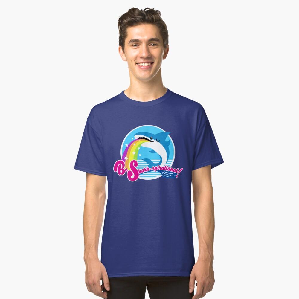 Be Shark-spirational! Classic T-Shirt Front