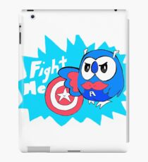 Captain Rowlet America iPad Case/Skin